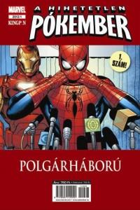 A hihetetlen Pókember - borító